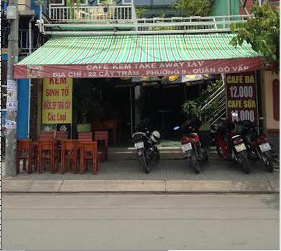 Sang quán cafe đối diện CV Làng Hòa Gò Vấp