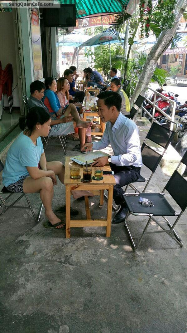Sang quán cafe đông khách 2 mặt tiền quận 6