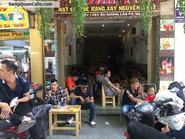 Sang quán cafe đông khách mặt tiền