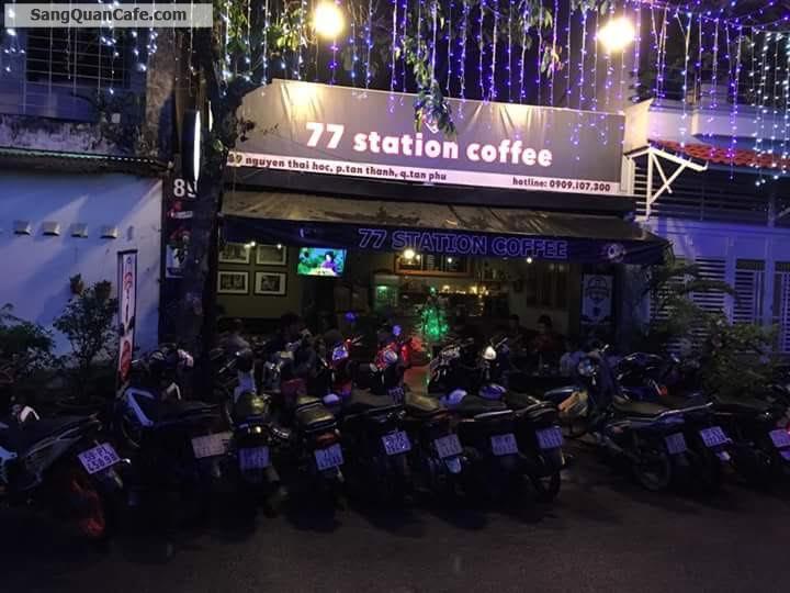 Sang quán cafe đông khách mặt tiền Nguyễn Thái Học