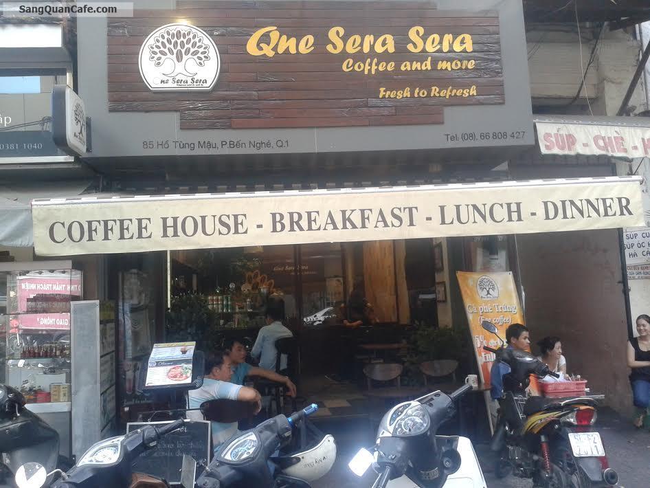 Sang quán Cafe đông khách trung tâm Quận 1