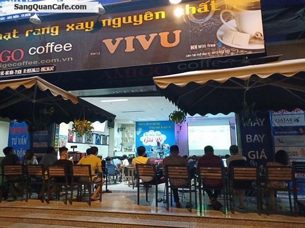 Sang quán cafe được nhượng quyền thương hiệu AMIGO