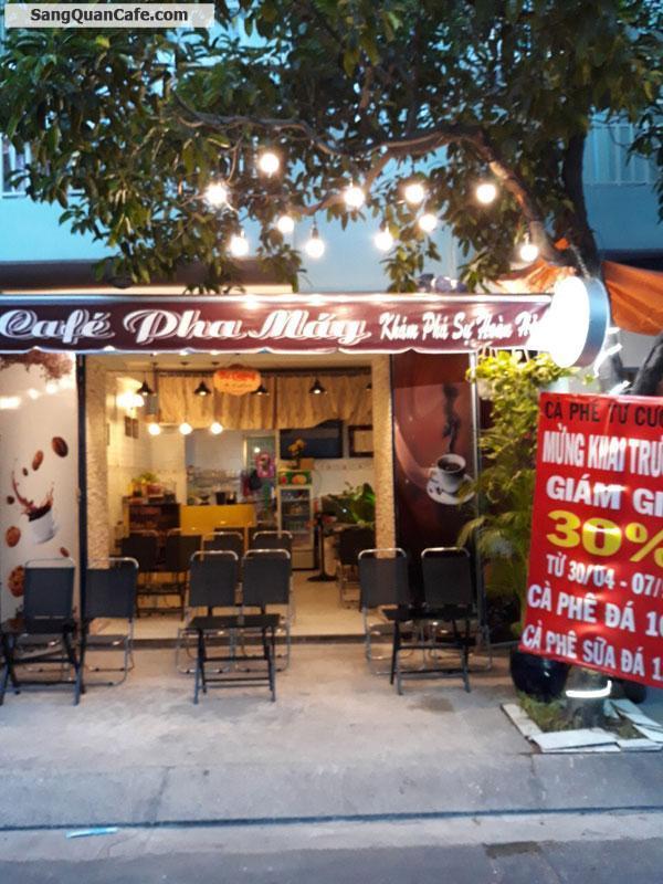 Sang quán cafe dưới chung cư mặt tiền Cư Xá Đài Ra Đa