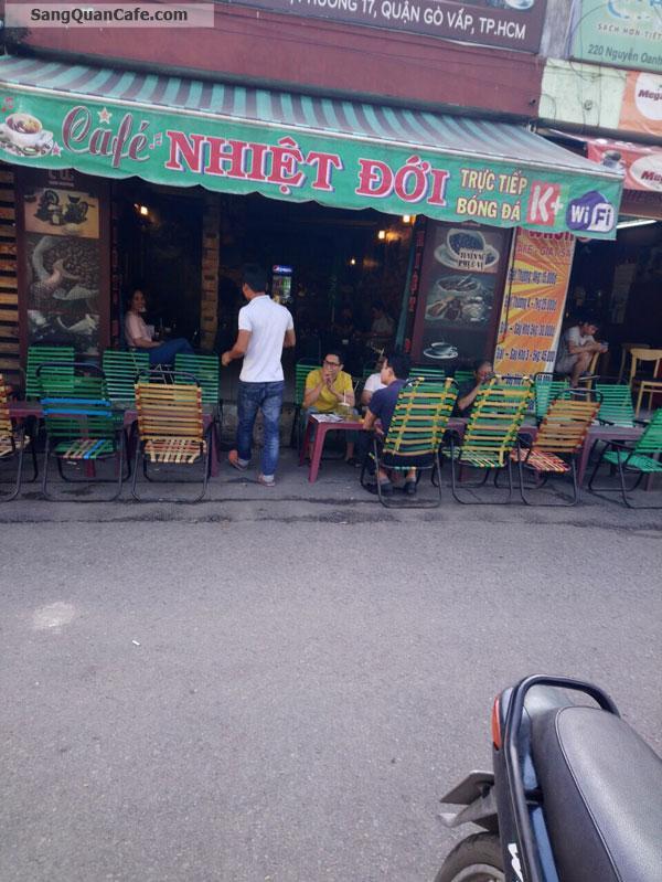 Sang quán cafe đường 220 Nguyễn Oanh