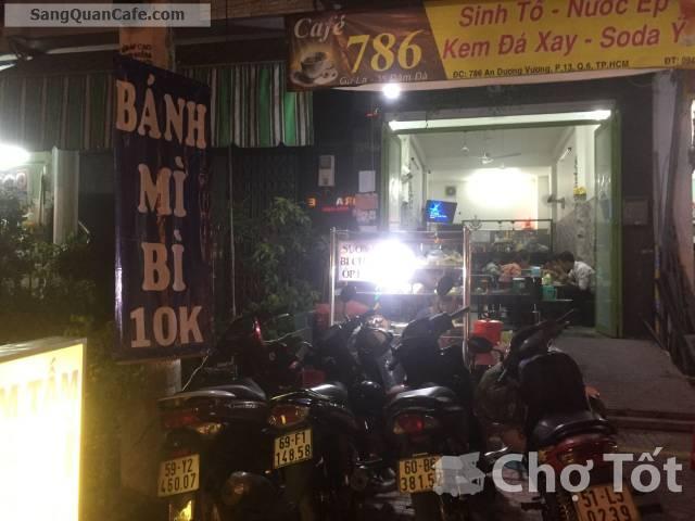 Sang Quán Cafe đường An Dương Vương