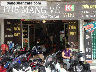 Sang quán cafe đường Bình Thới