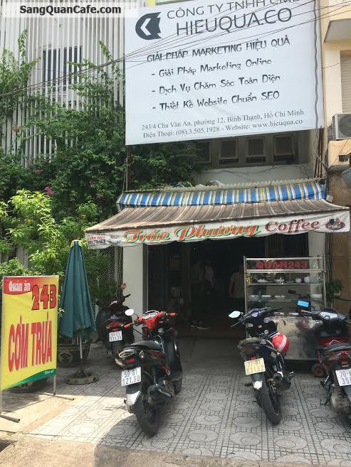 Sang quán cafe đường Chu Văn An