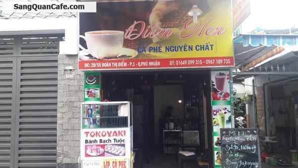 Sang quán cafe đường Đoàn Thị Điểm