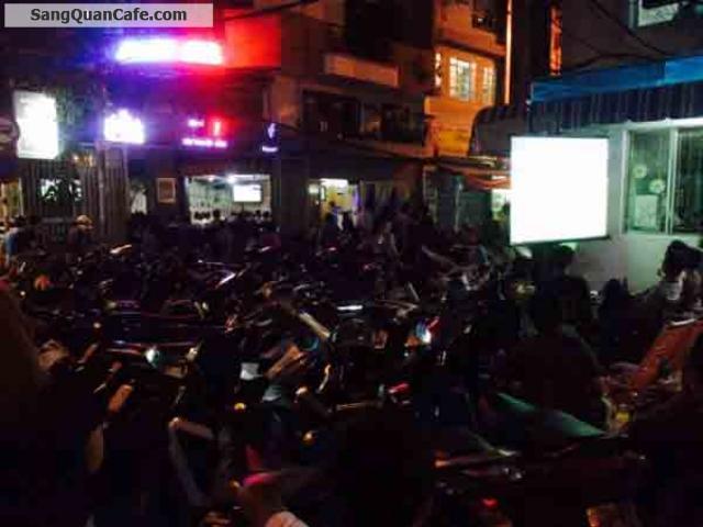 Sang quán cafe đường Hoa sư Phú Nhuận