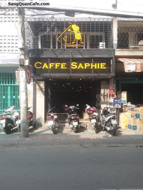 Sang quán cafe đường Học Lạc quận 5