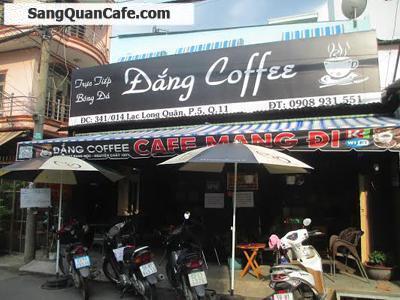 Sang quán cafe đường Lạc Long Quân