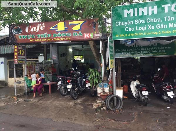 Sang quán cafe đường Lê Văn Chí