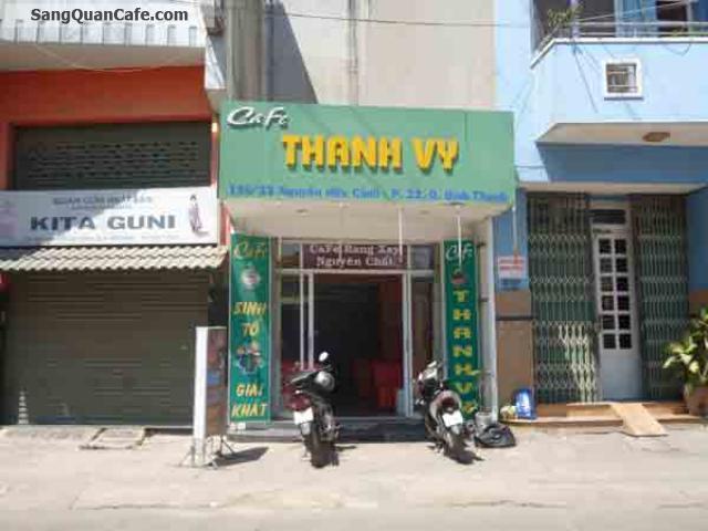 Sang quán cafe đường Nguyễn Hữu Cảnh