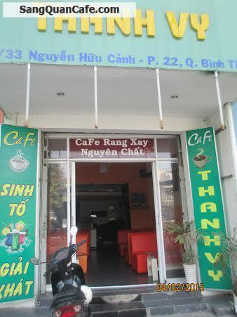 Sang Quán Cafe đường Nguyễn Hữu Cảnh quận Bình Thạnh