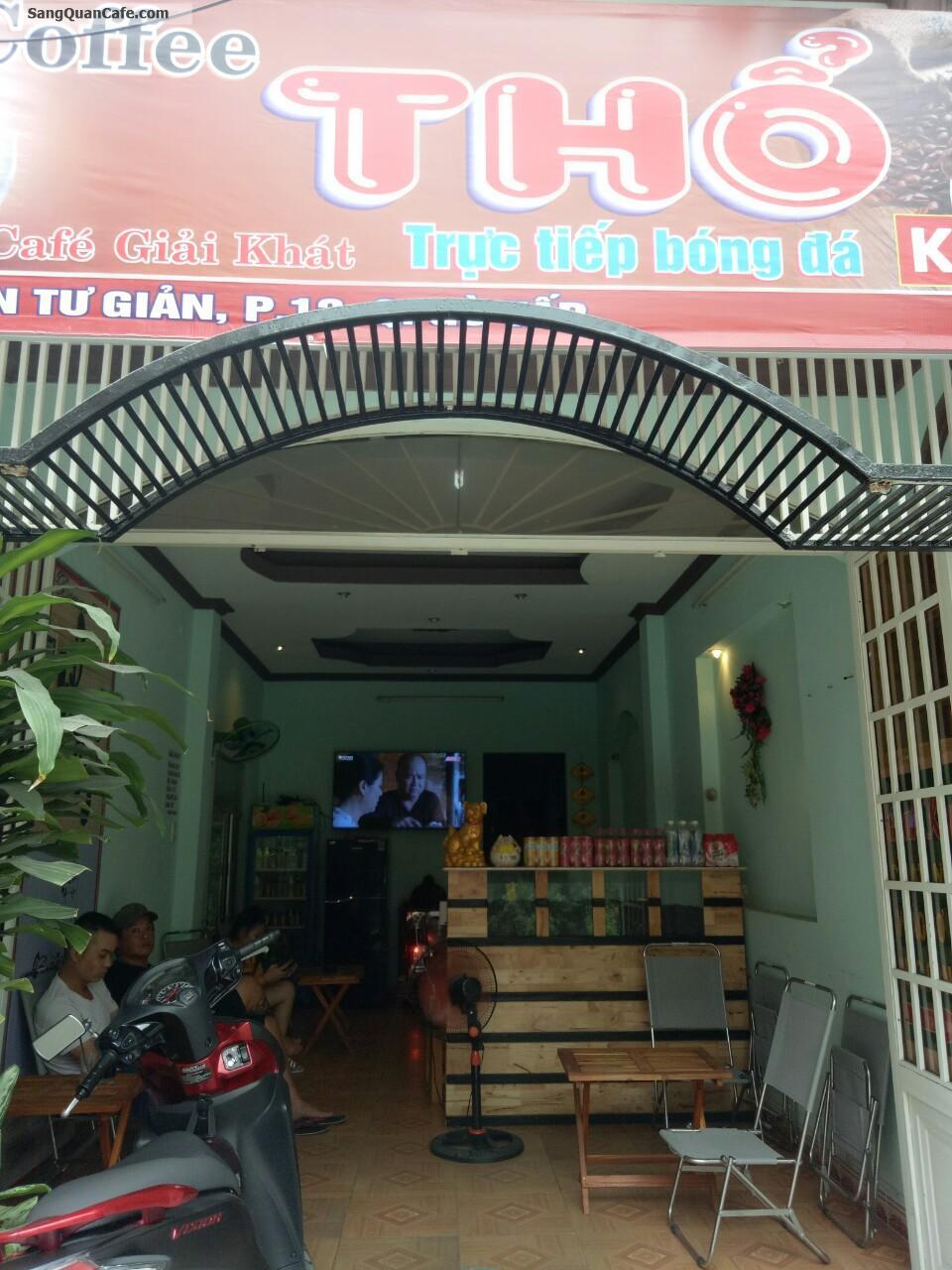 Sang quán cafe đường Nguyễn Tư Giản