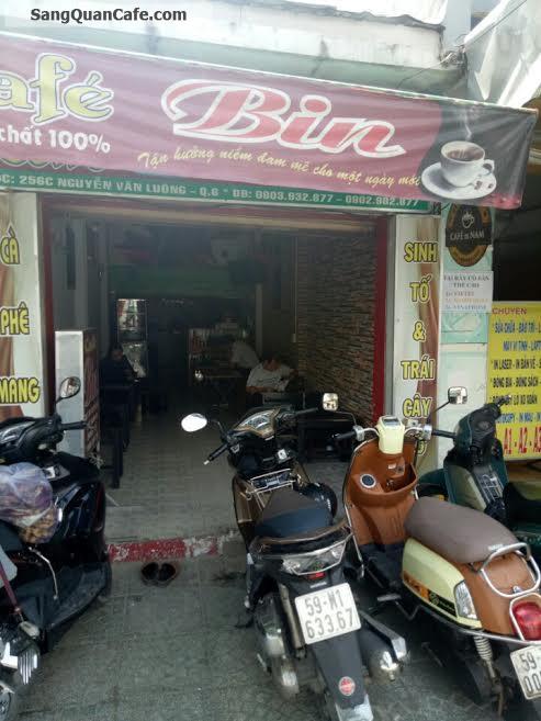 Sang quan cafe đường Nguyễn Văn Luông