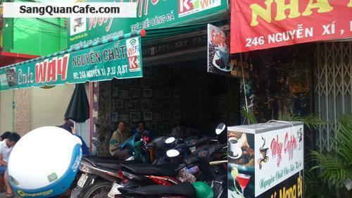 Sang quán cafe đường Nguyễn Xí