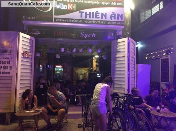 Sang quán cafe đường Phạm Văn Đồng