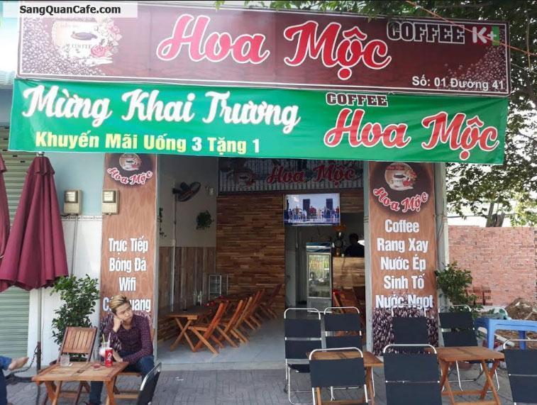 Sang Quán Cafe đương Phạm Văn Đồng