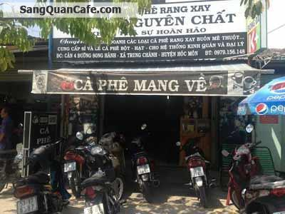 Sang quán Cafe đường Song Hành Hóc Môn