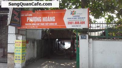 Sang quán cafe PHƯỢNG HOÀNG đường Tân Lập 1