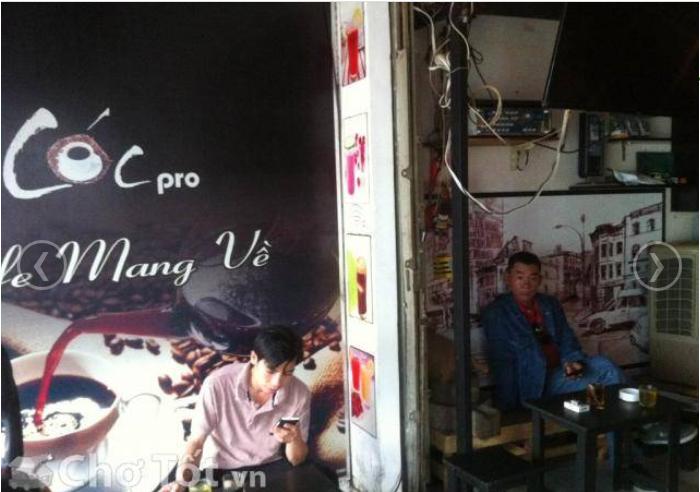 Sang quán cafe đường Thống nhất quận Gò Vấp