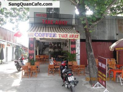 Sang quán cafe đường Trục quận Bình Thạnh.