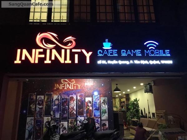 Sang quán cafe Game mặt tiền Huyền Quang