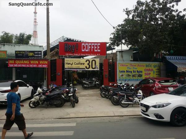 Sang quán cafe gần chung chư C 3 quận 9