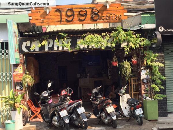 Sang quán cafe gần ĐH Ngân Hàng Q. Thủ Đức
