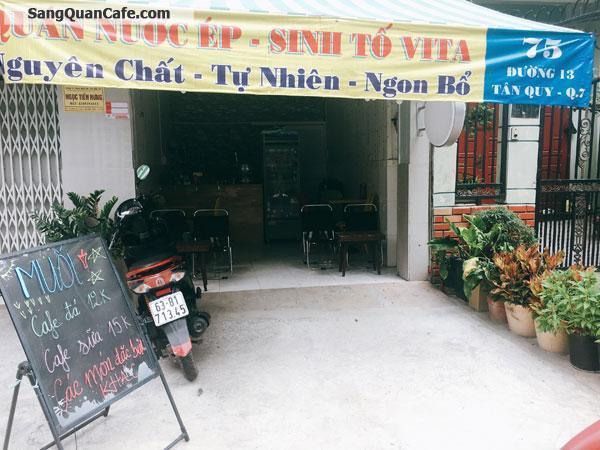 Sang quán cafe gần trường học khu ăn uống