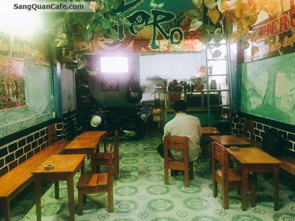 Sang quán cafe ghế ghỗ mặt bằng rẻ 3 triệu / tháng