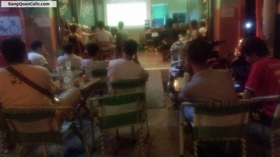 Sang quán cafe ghế gỗ ( Cờ Tường ) giá rẻ