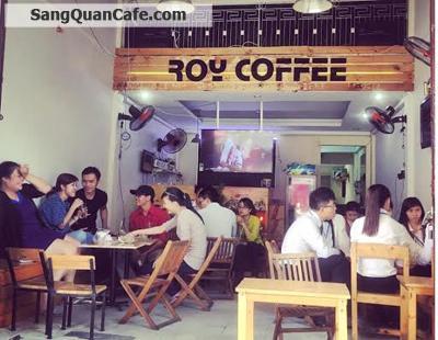 Sang Quán Cafe Ghế Gỗ + Vỉa hè quận 11