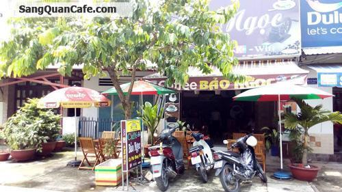 Sang quán cafe ghế gỗ đường Song Hành
