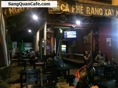 Sang Quán Cafe Ghế Gỗ Giá Rẻ Góc 2 Mặt Tiền