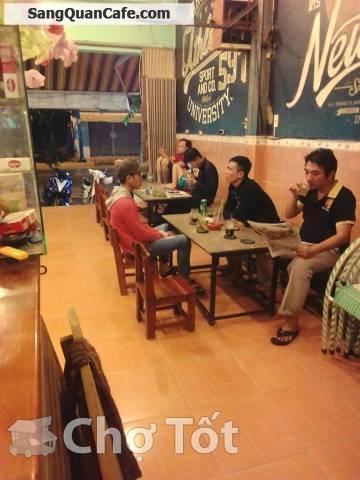 Sang Quán Cafe ghế gỗ giá rẻ tại Hóc Môn .
