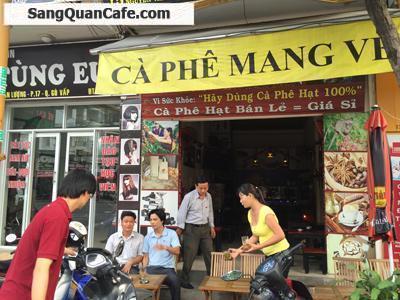 Sang quán cafe ghế gỗ Gò Vấp