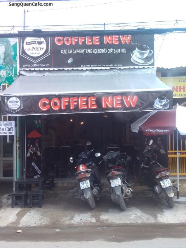 Sang quán cafe ghế gỗ Mặt Tiền Nguyễn Thị Ngâu