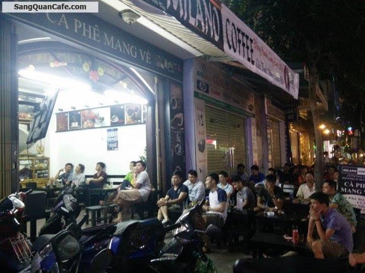 Sang quán cafe ghế gỗ Milano quận Tân Bình