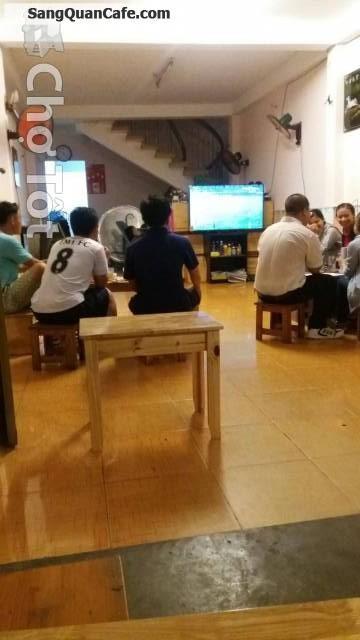 Sang quán cafe ghế gỗ gía rẻ