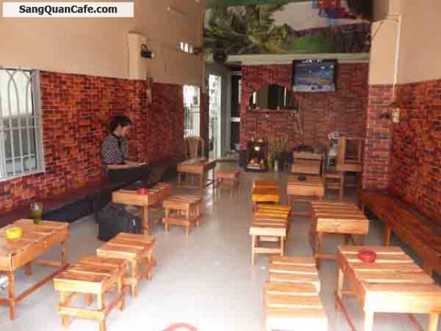 Sang quán Cafe ghế gỗ quận Gò Vấp