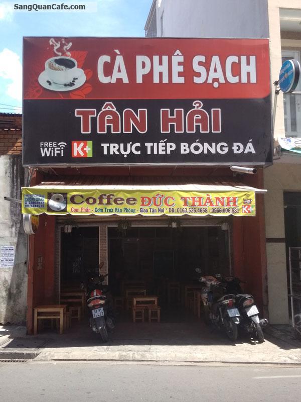 Sang quán Cafe Ghế gỗ quận Tân Bình