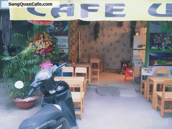 Sang quán cafe giá rẻ, đầu tư đủ đồ, đông khách vào kinh doanh ngay.