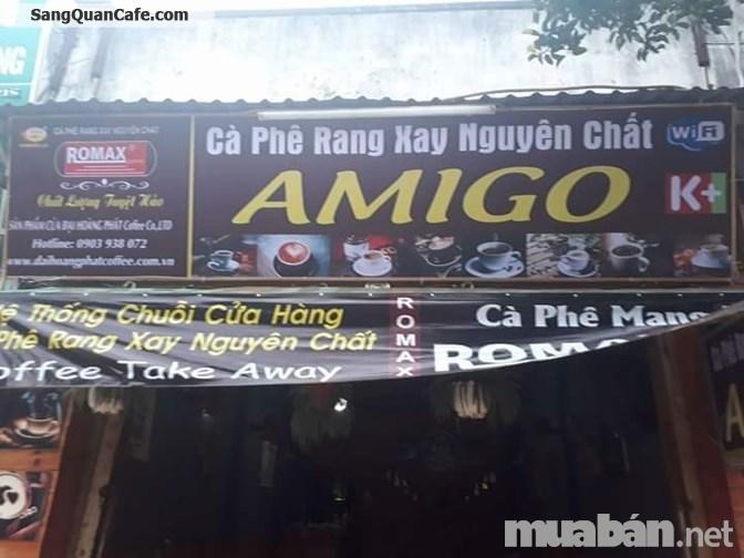 Sang quán cafe giá rẻ mặt tiền đường Bà Triệu