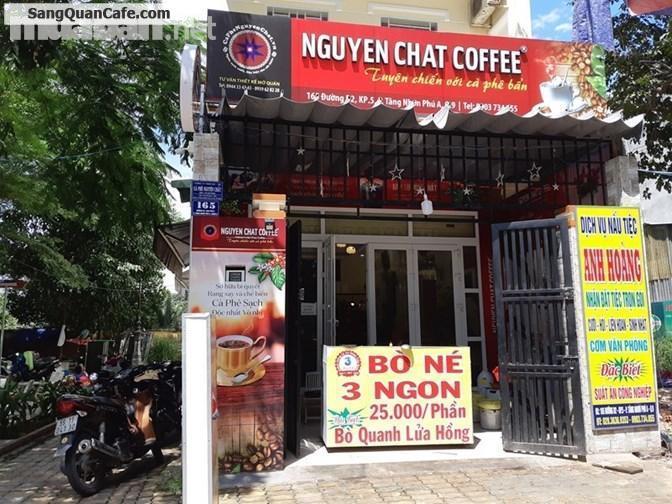 Sang quán cafe giá rẻ mặt tiền trung tâm quận 9