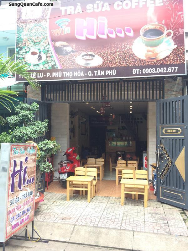 Sang quán Cafe MT 178A Lê Lư, Quận  Tân Phú