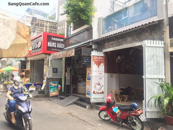 Sang quán cafe giá rẻ ngay chợ Đỗ Tấn Phong