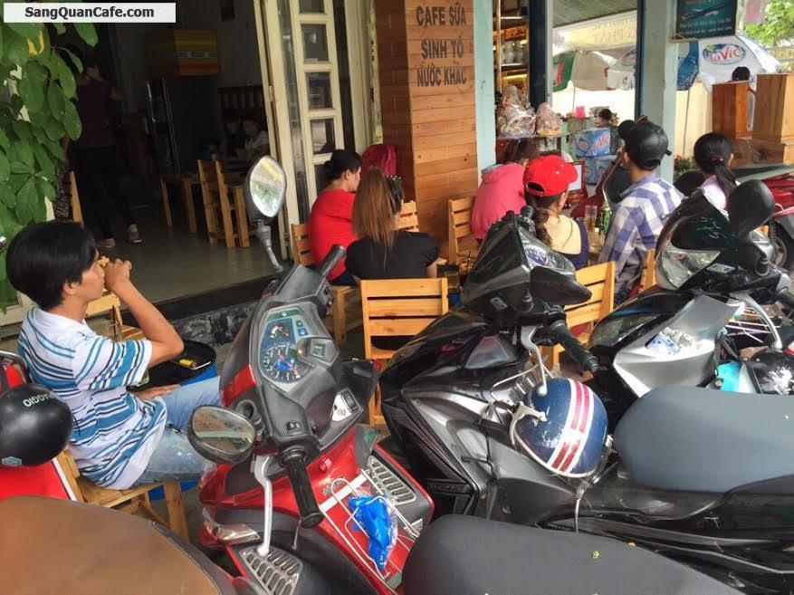 Sang quán cafe giá rẻ quận 8