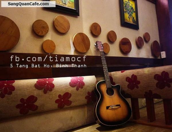 Sang quán cafe giá rẻ quận Bình Thạnh